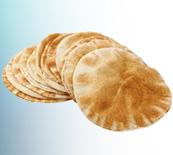 خط آلي لإنتاج الخبز العربي خبزتين